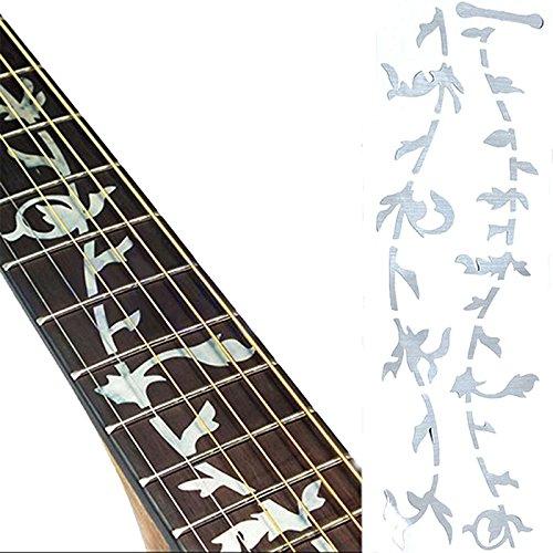 SimpleLife 1X Baum des Lebens Instrument Schöne Gitarre Bass Inlay Aufkleber Ultra Thin Aufkleber