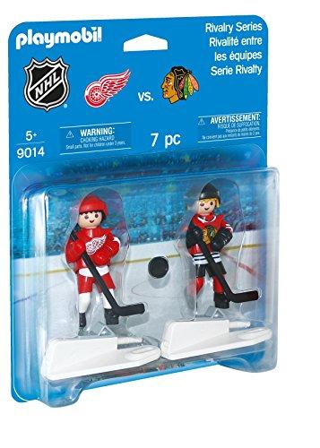 PLAYMOBIL 9014 - NHL Rivalry Series - Detroit Red Wings vs Chicago Blackhawks