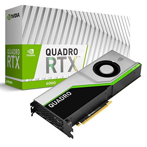 PNY Quadro RTX 6000 Professional Scheda grafica 24GB GDDR6 PCI Express 3.0 x16, doppio slot, 4x DisplayPort, supporto 8K, ventola attiva ultrasilenziosa