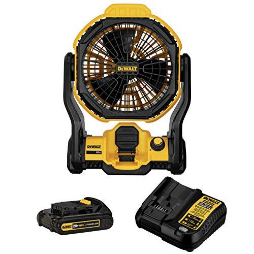 DEWALT DCE511C1 11 in. Corded/Cordless Jobsite Fan Kit