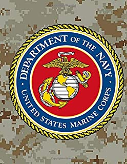 Department Of The Navy United States Marine Corps: Military Daily Planner Organizer Quotes On Leadership 366 Days Army Air...