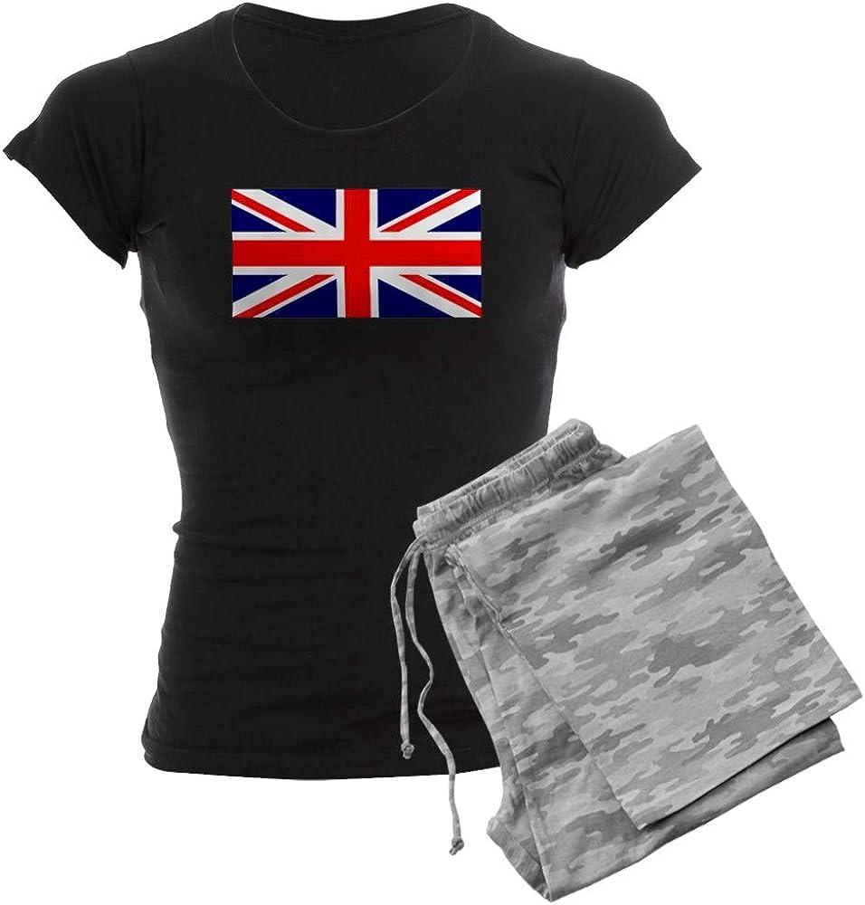 CafePress British Union Jack Louisville-Jefferson County Mall Women's Flag PJs Ranking integrated 1st place