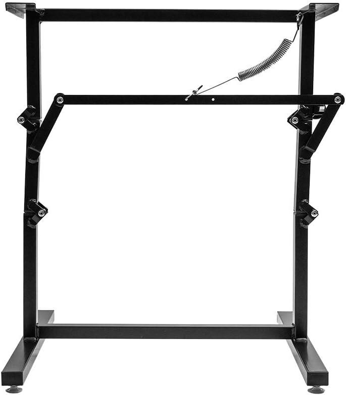 ToughGrade SNAP 2 - Black Folding Table Leg/Bed Base for RV
