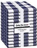 Cote De Amor 12er Set Baumwolle Küchentücher 16x26 saugfähig langlebig waschbar Geschirrtücher...
