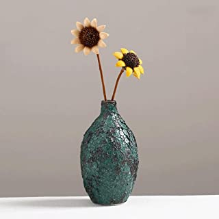 Hkwshop Decoracion Jarrones Creativo florero de la Vendimia de cerámica Seca jarrón de Flores floristería Sala de Mesa de ...