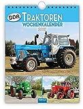 Wochenkalender ' DDR-Traktoren' 2021: 19 x 25 cm, mit Bildern von Ralf-Christian Kunkel