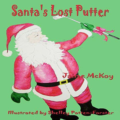 Santa's Lost Putter audiobook cover art
