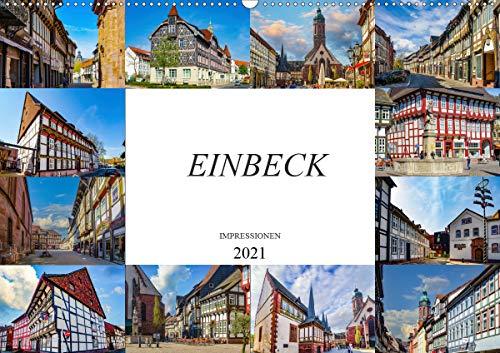 Einbeck Impressionen (Wandkalender 2021 DIN A2 quer)