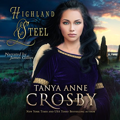 Highland Steel (Guardians of the Stone Book 2) audiobook cover art