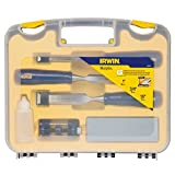 IRWIN Tools 6-Piece Woodworking Chisel Set with Sharpening Kit (1788115)