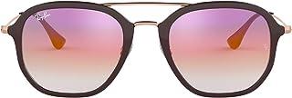 Ray-Ban Unisex-Adult's 4287 Sunglasses, Negro, 56