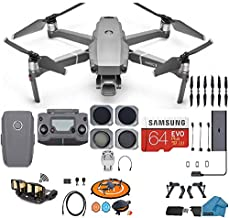 DJI Mavic 2 PRO Drone Quadcopter, with ND, Cpl Lens Filters, 64GB SD Card, with Hasselblad Video Camera Gimbal Bundle Kit with Must Have Accessories