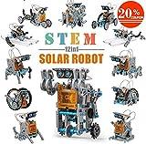 CIRO Solar Robot kit 12 in 1 Educational STEM Learning Science Building Toys
