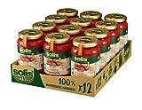 SOLIS Tomate Frito Estilo Casero Frasco Cristal - Pack de 12 x 350g - Tomate sin gluten