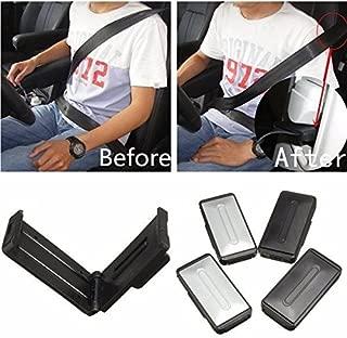 Kylewo 2 St/ücke Autositz Gurtversteller Locator Stopper Smart Adjust Sitzgurte Zum Entspannen Schulter Hals Geben Ihnen Eine Komfortable und sichere Erfahrung Sicherheitsgurt Clips