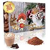 C&T Adventskalender 2019 Trinkschokolade (No3) NEU - 24 aufregende italienische Kakao-pulver - 'Märchenhafte Trinkschokolade' in 24 verschiedenen Sorten mit Verfeinerungstipps - Weihnachts-Kalender mit Kakaospezialitäten zum selber machen - Getränkepulver