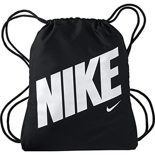 Nike Y Nk Gmsk-GFX, Borsa Bambino, Black/White, Taglia Unica