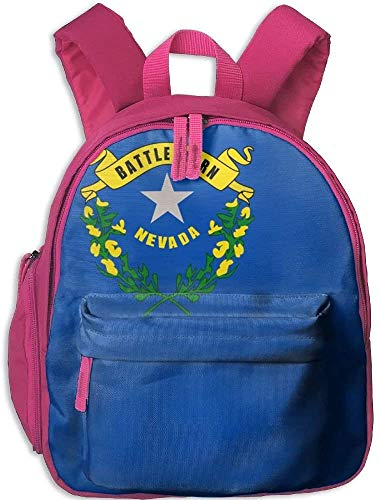 Backpacks Flag of Nevada Kid and Toddler Student Backpack School Bag Super Bookbag