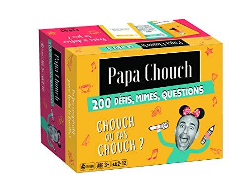 Jeu-Papa chouch - le jeu, 200 défis, quiz, mimes,...