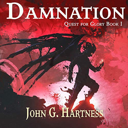 Damnation Audiobook By John G Hartness cover art