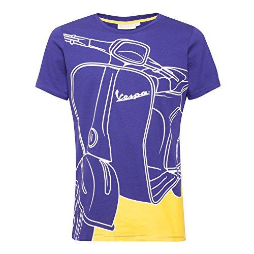 Vespa Herren-T-Shirt - Violett - Groß
