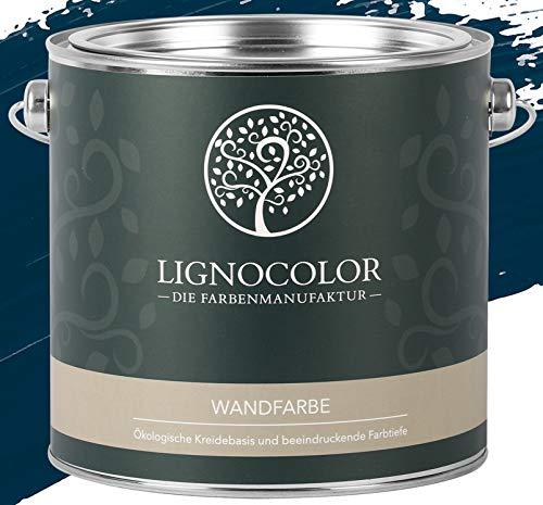 Lignocolor Wandfarbe Innenfarbe Deckenfarbe edelmatt 2,5 L (Ocean)