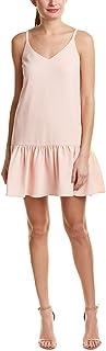 فستان نسائي بتصميم متدلي من الكريب الكلاسيكي المحافظ من ترينا ترك