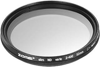 Andoer ZOMEI 40. 5 مم Ultra Slim Variable Fader ND2-400 كثافة محايدة ND فلتر قابل للتعديل ND2 ND4 ND8 ND16 ND32 إلى ND400 ...
