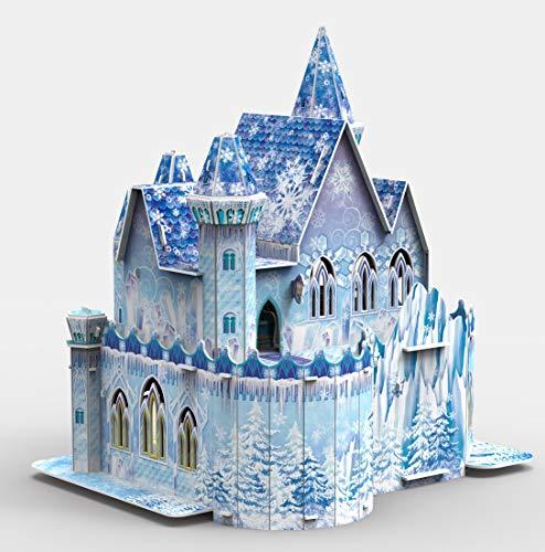 Brigamo Magischer ELSA Eispalast Puppenhaus Schloss zum basteln & Spielen