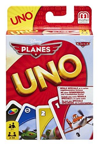 Mattel BGG50 - UNO Disney Planes Kartenspiel