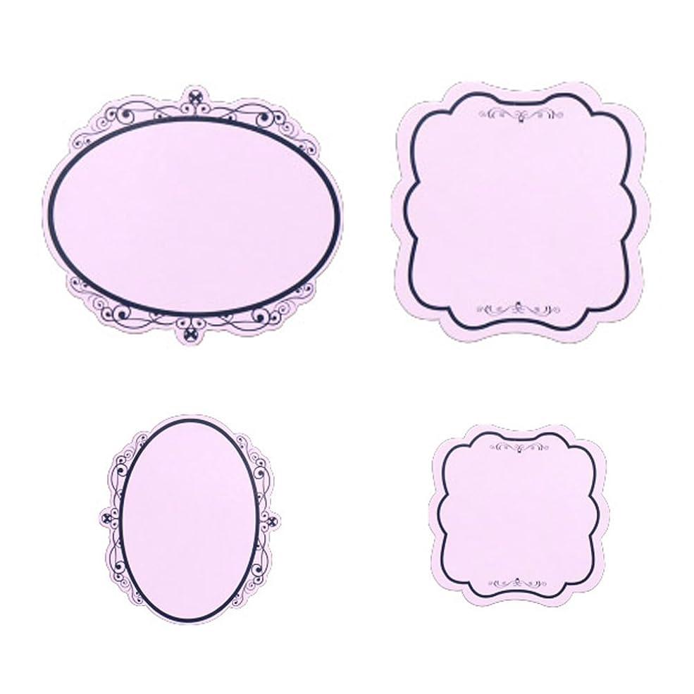 意味吸収剤織機agehaコレクション ディスプレイカード紫
