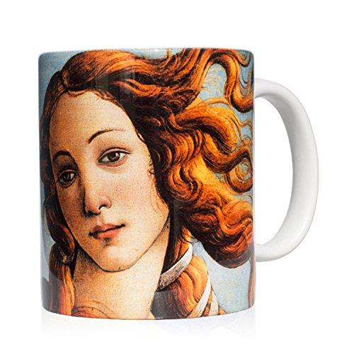 We Love Art Taza mug Desayuno de cerámica Blanca 32 Cl. con...