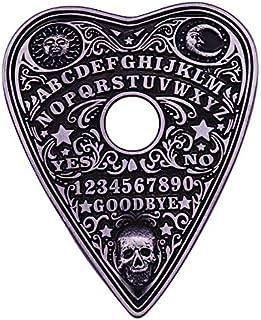 Ouija tavola spiriti enamel pin spilla