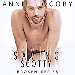 Saving Scotty: Broken Book 2 audiobook cover art