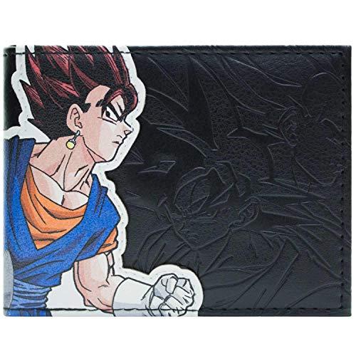 Cartera de Dragon Ball Z Vegito Gohanks Fusion Negro