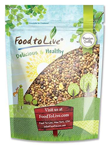 Salad Mix of Sprouting Seeds, 1 Pound - Broccoli, Clover, Radish, Alfalfa, Kosher, Raw, Vegan