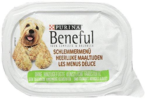 Beneful Schlemmermenu, hondenvoer, 6-pack (6 x 200 g schaal)