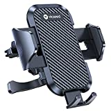 VICSEED Ultra Stable Phone Holder for Car, [Upgrade Won't Break] Air Vent Universal Car Phone Holder Mount Easy Clamp Cell Phone Car Mount Fit for iPhone 13 Pro Max Galaxy Note All Mobile Phones