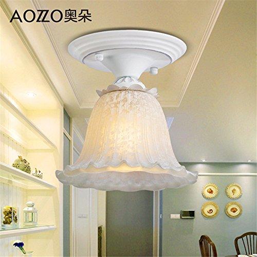 BRIGHTLLT Plafonnier de style européen Xuan Guan Deng balai lampe évier éclairage de salle de bains lampe, 160 * 190mm