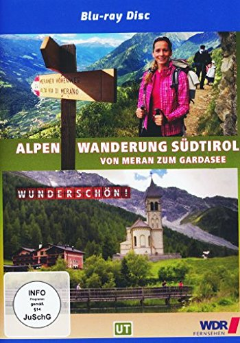Wunderschön! - Wandern über die Alpen 2 - Südtirol - Von Meran zum Gardasee [Blu-ray]