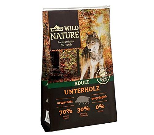 Dehner Wild Nature Hundetrockenfutter Adult, Unterholz, 4 kg