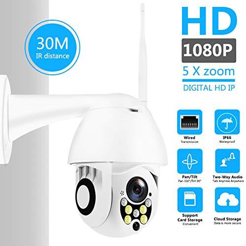 LYHLYH Dome draadloze bewakingscamera, buiten roterend netwerk wifi camera Mobiele telefoon remote home intelligente monitoring IP66 Waterdicht