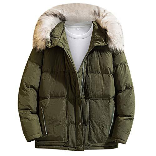 Momoxi Parka Uomo Cappotto Lungo Inverno Trench Coat Doppio Breasted Giacca Jacket Slim Fit Outwear Elegante Giubbotti
