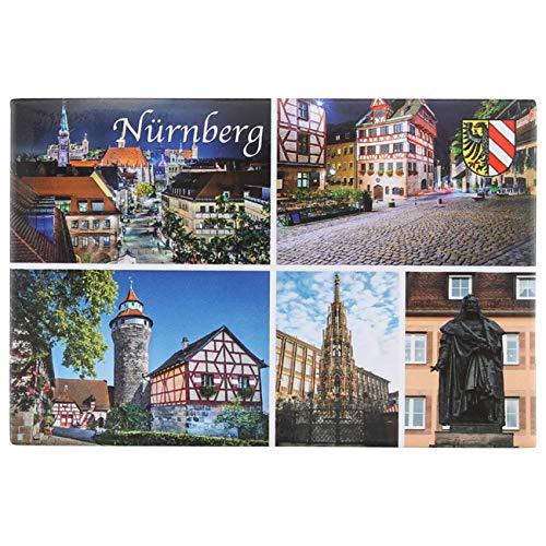 Ciffre Fotomagnet Postkarte Foto Magnet Kühlschrankmagnet Souvenir Bauer - Nürnberg NP05
