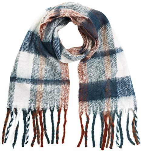 VERO MODA dames VMNARA sjaal, meerkleurig (Madder BrownPatroon: Comb), One Size