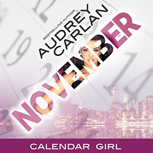 November audiobook cover art