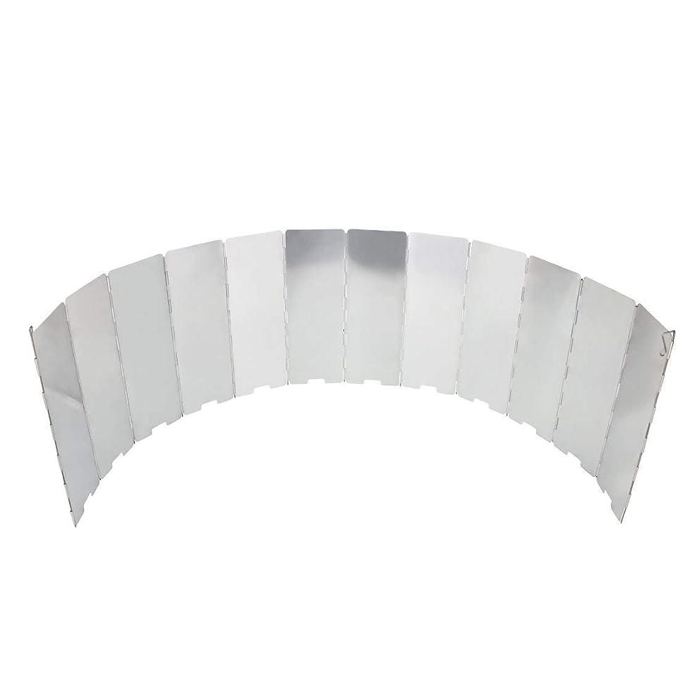 東ティモールナビゲーション首尾一貫したFollowmyheart 12プレート折りたたみストーブフロントガラス調理ガスストーブウィンドシールドピクニック調理器具防風ガラス屋外キャンプ機器