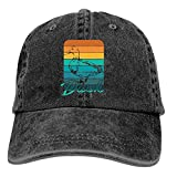 AINCIY Gorra de Camionero de béisbol, Gorras de Golf para Hombre de Pato Ajustable para jóvenes Vaqueras Sombreros
