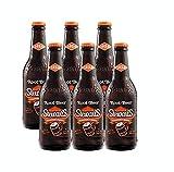 Stewarts Original Root Beer Soda 12 Oz Glass Bottle (Pack of 6, Total of 72 Oz)