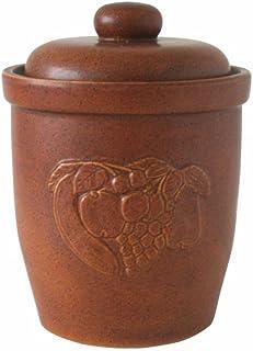 Ms-Steinzeug Kerafactum - Olla para chucrut (7 L) con decoración en Relieve.
